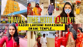 Travelling to Kadiri Lakshmi Narasimha Swami Temple With Family!?|Day Off with Family for Darshanam|