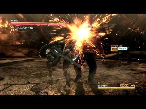 MGR: Armstrong Fists only, No Damage (Revengeance) |