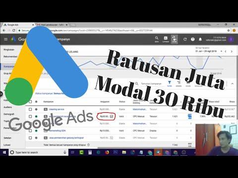 Study Kasus Iklan Google Ads - Modal 30 Ribu Per Hari, Untung 200 Juta! Kok Bisa???