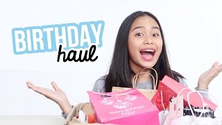 Birthday Haul 2017! (Philippines) | ThatsBella