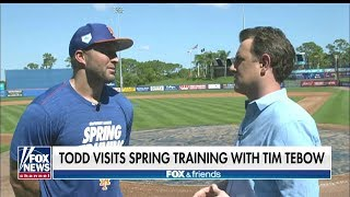 WATCH: Tim Tebow Talks Baseball, Faith and Facing Life's Challenges