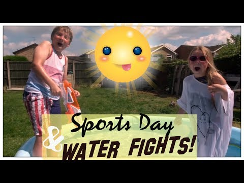 SPORTS DAY & WATER FIGHTS! | MRS PARROTT