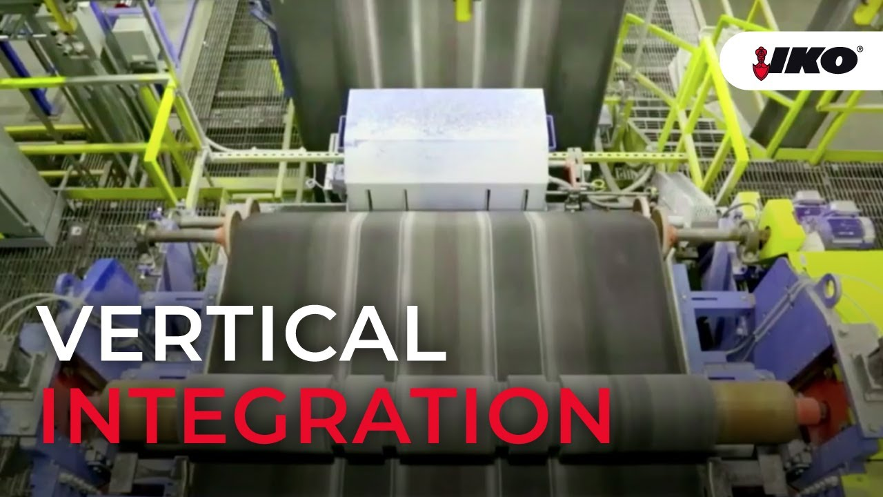 Vertical Integration Manufacturing at IKO