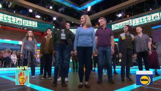 Cast of Broadway's 'Jagged Little Pill' performs 'You Learn' on GMA