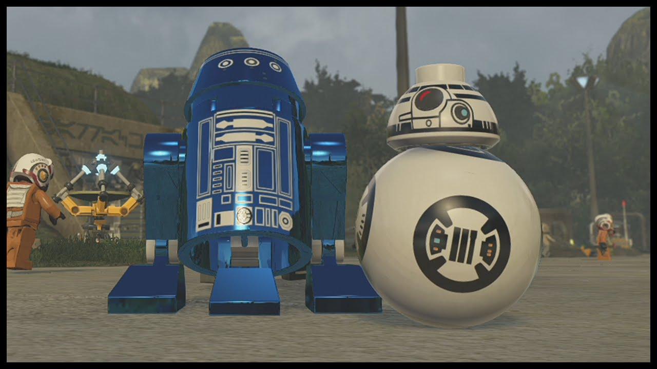 Lego Star Wars The Force Awakens How To Create Custom Droids