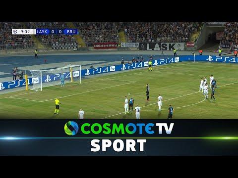 ΛΑΣΚ - Μπριζ (0-1) Highlights - UEFA Champions League - 20/8/2019   COSMOTE SPORT