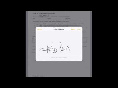 Scan, Complete & Sign Documents in iOS 11 Mark Up