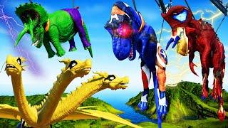 Nasutoceratops Vs Captain Amer…