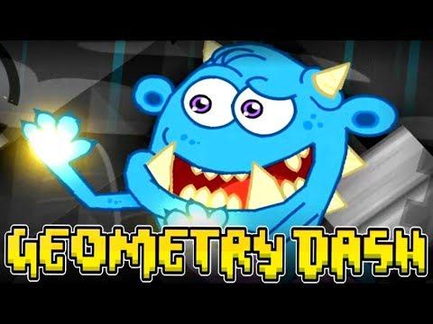 GEOMETRY DASH BOSS MONSTERS! Monster Gauntlet