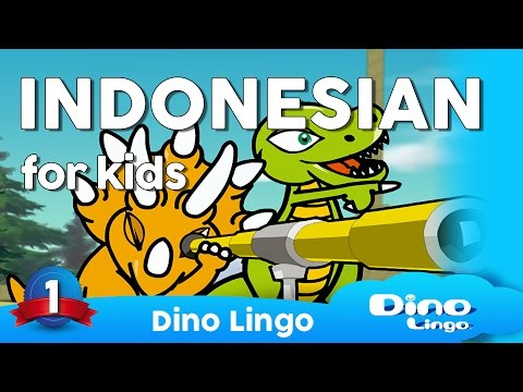 Indonesian for kids - Bahasa Indonesia- Indonesian learning DVD set for children