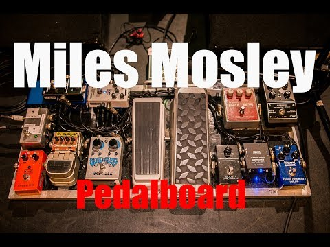 MILES MOSLEY - Pedalboard and signal chain