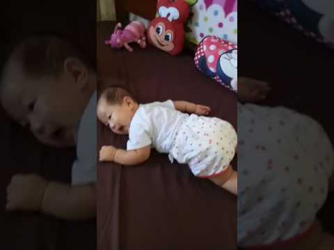 Jada Just Started Crawling At 3 Months And 18 Days.