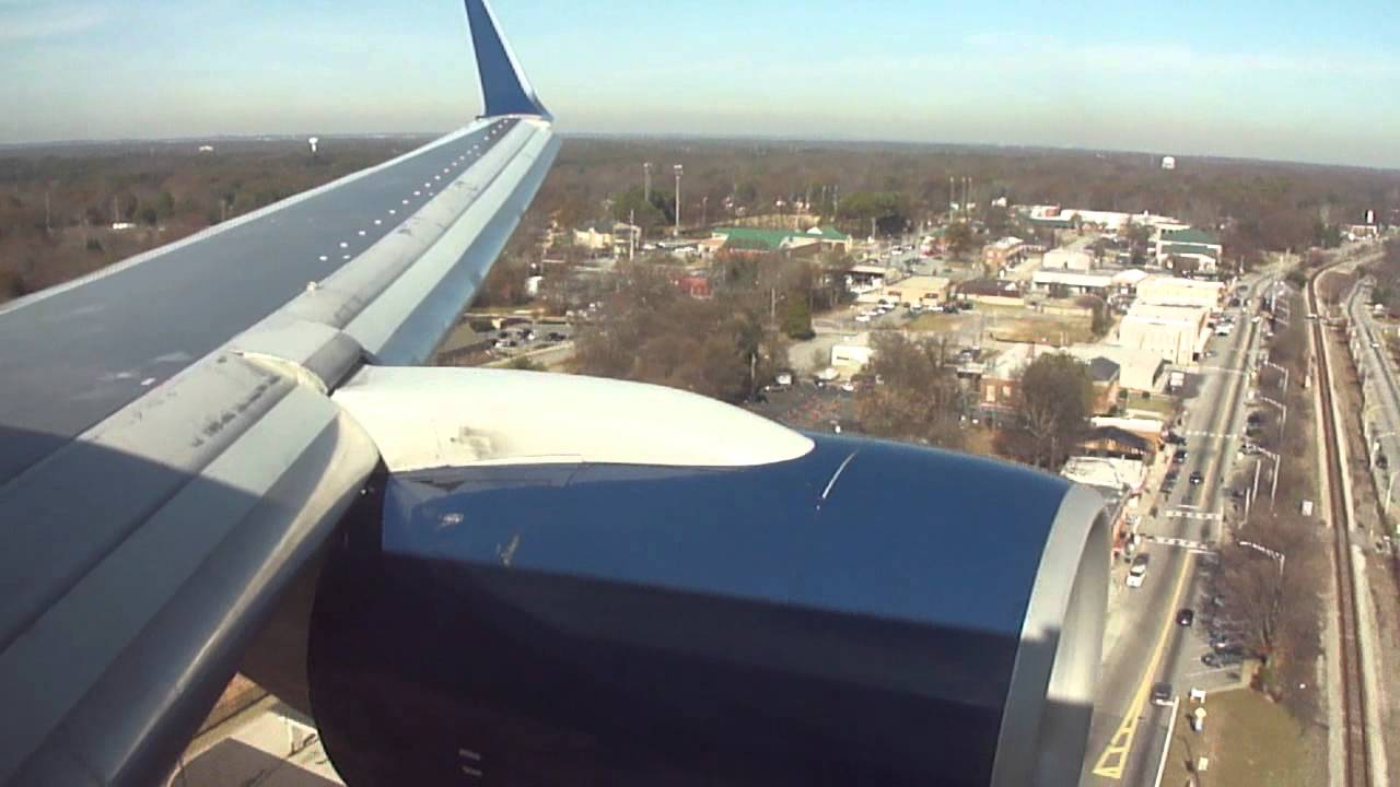 Delta Airlines Boeing 757 200 Winglets Soft Landing In