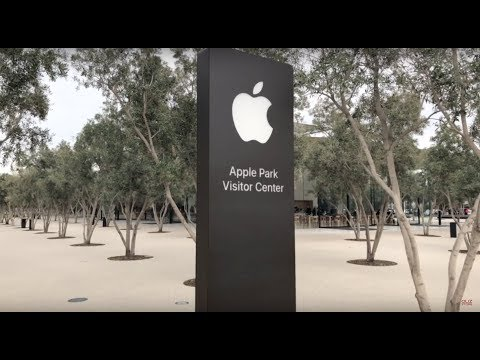 Apple Park Visitor Center Full Tour - OlizStore