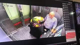 Hapeloğlu Asansör - Evli Sürtük Karı Yaşlı dedeyle takılmaca