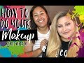 Ali Does Meg's Makeup|Makeup for Beginners|Meg Tries Makeup