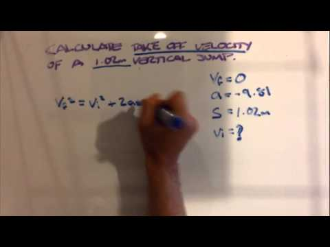How To Calculate Initial Velocity