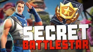 Fortnite Season 5 Week 8 SECRET Battle Star Banner