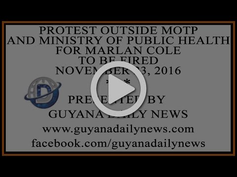 Protest Outside MOTP And Ministry Of Public Health || Presen