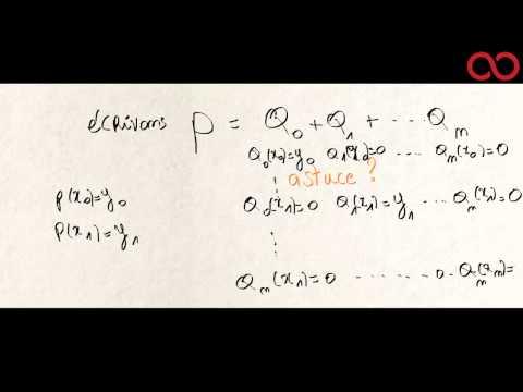 Kezakoo - Polynomes interpolateurs de Lagrange