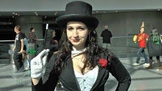ZATANNA! DC Comics Cosplay at New York Comic Con 2013