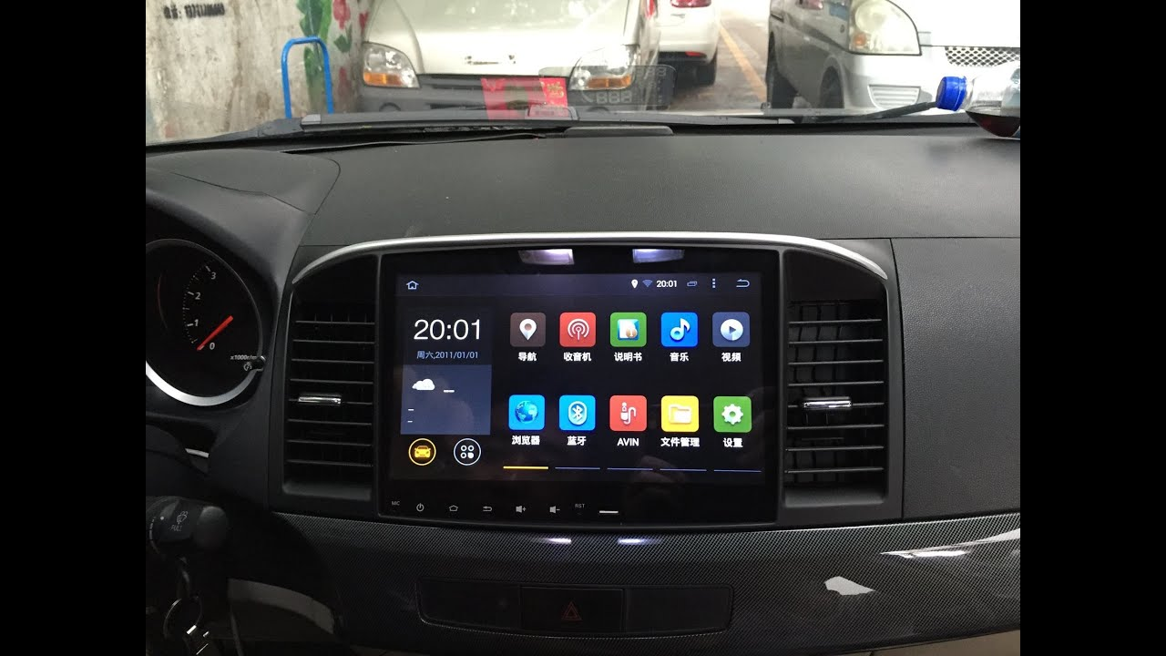 Booting Time of SYGAV Car Android Head Unit for Mitsubishi