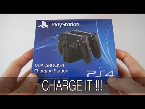 Sony PS4 Dualshock 4 Charging Station Unboxing & First Look