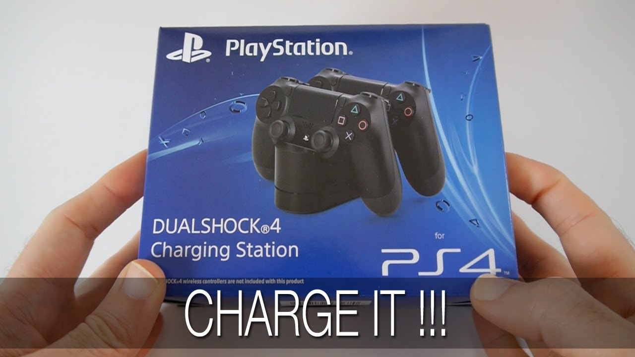 Sony Ps4 Dualshock 4 Charging Station Unboxing First
