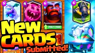 THREE NEW CARDS Submitted to Supercell! Clash Royale NEW card concepts! thumbnail