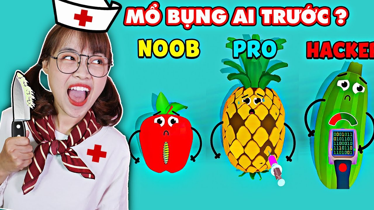 Hà Sam Làm Bác Sĩ Chữa Bệnh Cho Trái Cây Bị Sâu Và Bị Thối - Fruit Clinic