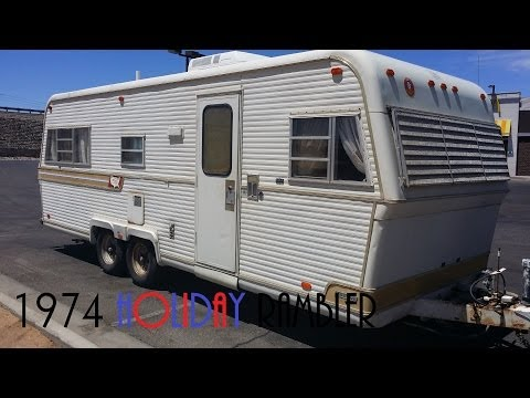 1974 Holiday Rambler - Tour - YouTube on mississippi state housing floor plans, 18' wide mobile home plans, shultz homes floor plans, redmond mobile homes floor plans,
