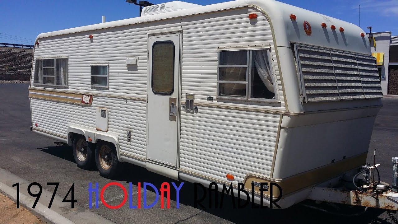 1974 holiday rambler tour [ 1280 x 720 Pixel ]