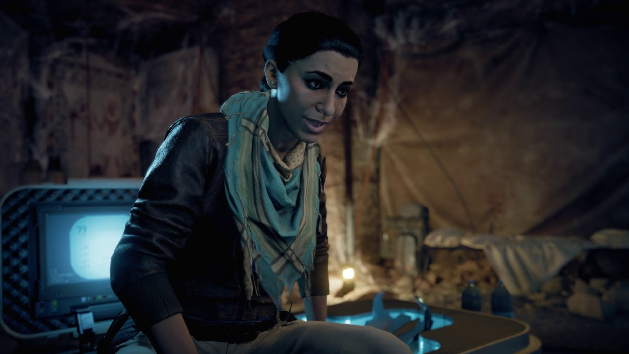 Assassin's Creed: Origins - Present Day: Layla Hussan ...
