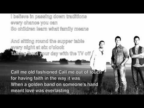 Call Me Old Fashioned High Valley Lyrics Youtube