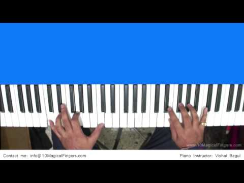 Aashique 2 Love Theme Piano Tutorial By Vishal Bagul | Melody | Chords | Arpeggios