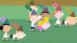 Ben and Holly's Little Kingdom | The Wheelbarrow Race! (60 MINS) | Kids Cartoon Shows