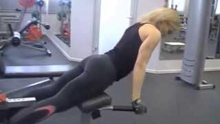 Зарядка gym для деловых женщин.