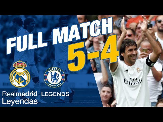 FULL MATCH | Real Madrid Leyendas 5 - 4 Chelsea Legends