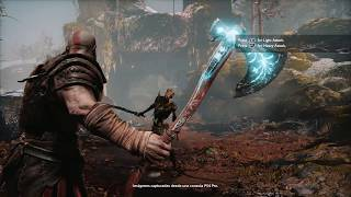 Nueva arma de God of War: The Leviathan Axe | PS4