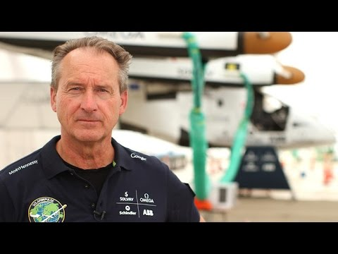 What it's like to fly a solar-powered airplane