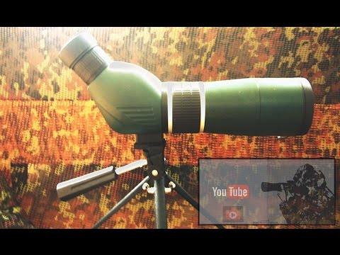Spektiv 15 45 x 60ae spotting scope unboxing youtube