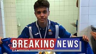 Man City close to £260,000 deal for Espanyol prospect Oscar Tarensi