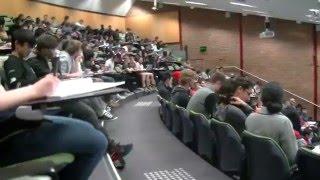 Guy Got Caught Watching Porn In A LectureTheatre (Prank)