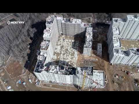 ЖК«Лучи»— аэросъемка МСКГуру. Март 2017.