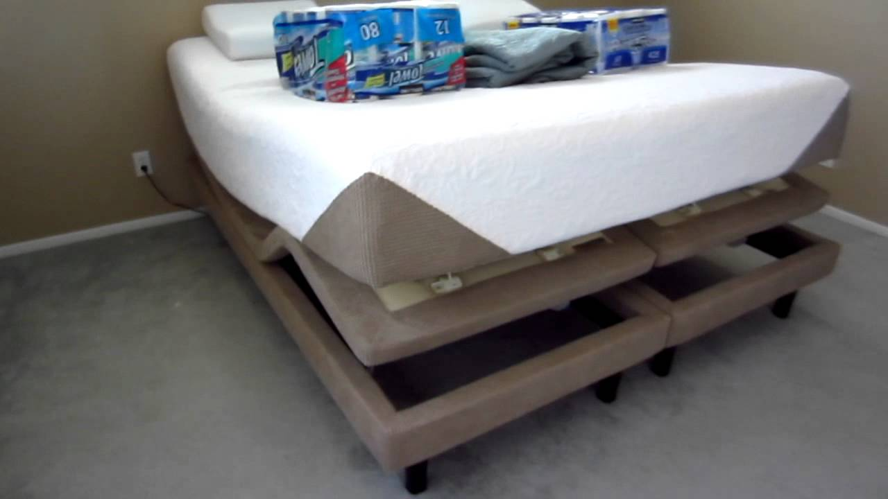 Serta Icomfort Revolution Memory Foam Mattress Zero G Setting On Adjule Foundation You