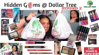 Underrated Hidden Gems @ Dollar Tree Round 2|Haul|Makeup|Skincare|Personal Care|Shop with me|