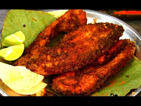 Rava Fish Fry Recipe Indian Street Food Youtube