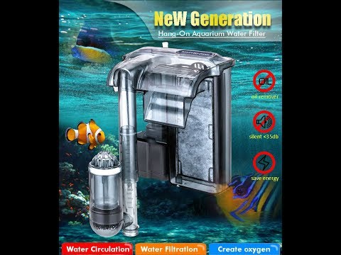 Cascade Hang-on Back Water Filter For Aquarum And Plant Tank