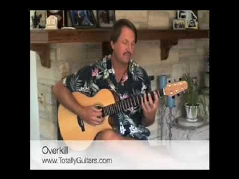 Learn To Play Overkill By Men At Work Acoustic Guitar Lesson Preview