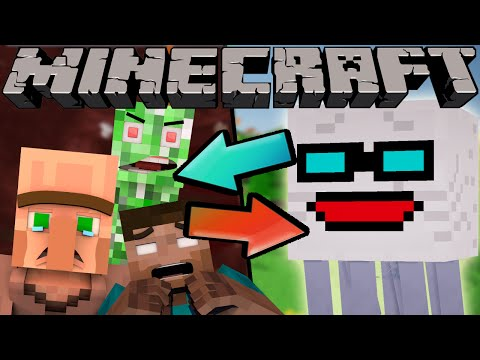 Thumbnail: If The Nether and Normal World Switched Places - Minecraft